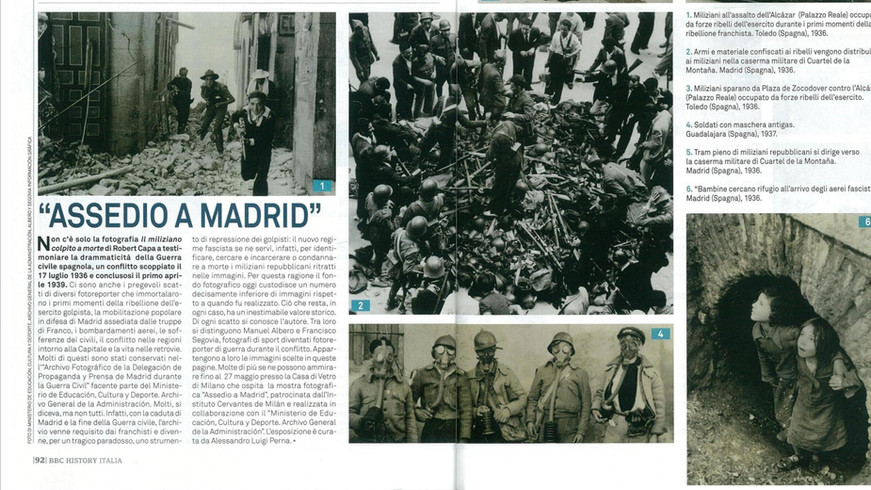 ASSEDIO A MADRID