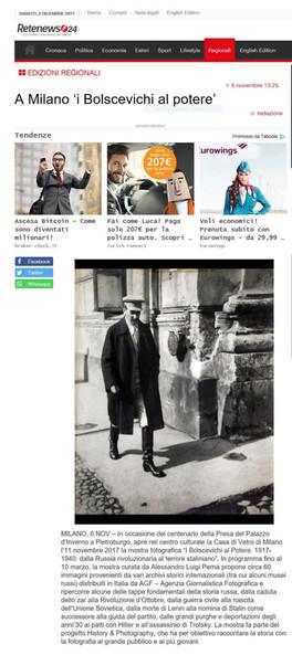 Retenews24.it  i Bolscevichi al potere
