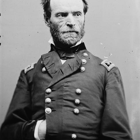 """William Tecumseh Sherman (1820/1891). La sua eccezionale visione di strategia militare gli valse la fama di """"primo generale moderno"""""""