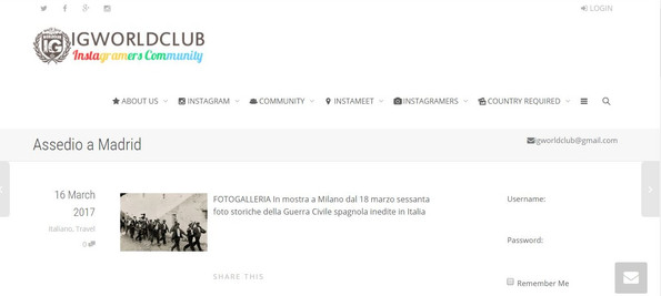 Igworldclub.org Madrid