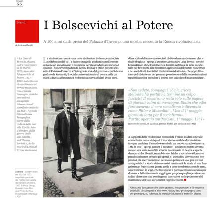 il Fotografo pag 56 i Bolscevichi al potere