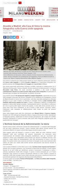 milanoweekend_it Assedio a Madrid