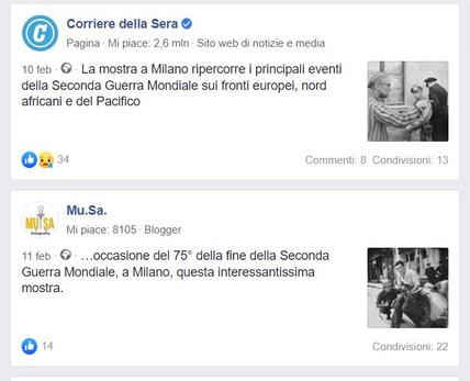 facebook Corriere_it e Mu_Sa laGuerraTotale