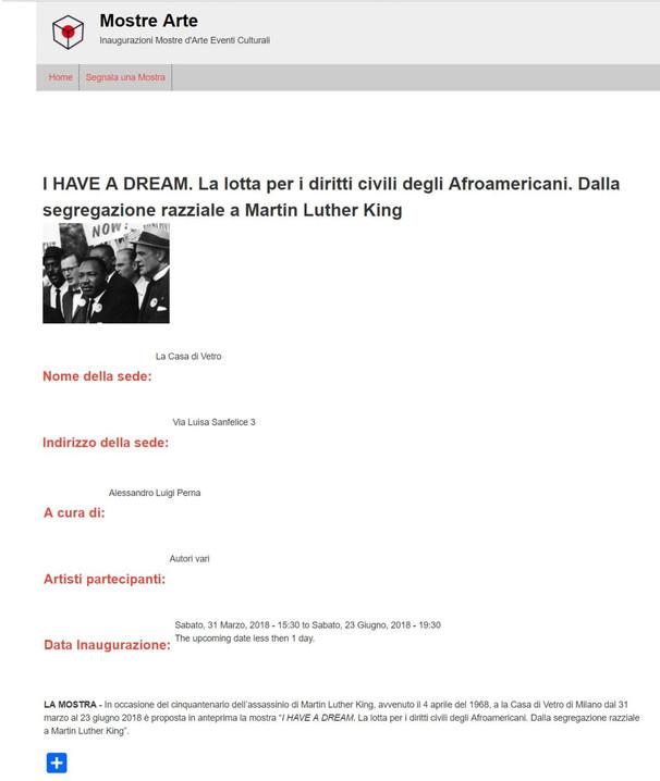 mostrearte_com I Have a Dream