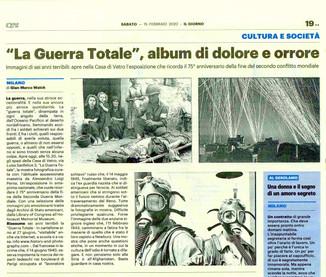 il Giorno Milano 15 febbraio 2020 laGuerraTotale
