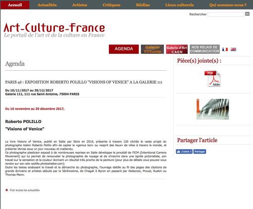 art-culture-france_com Visions of Venice a Paris