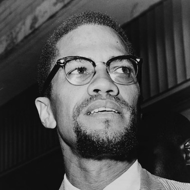 """Malcolm X (1925/1965) all'interno del tribunale del Queens"""