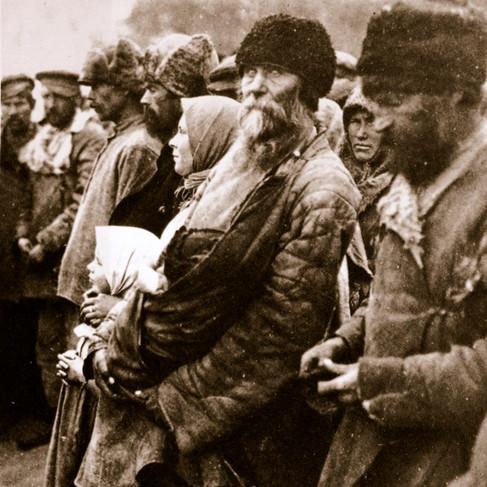 Contadini durante la guerra civile russa