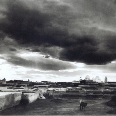 """Veduta della città di Tunisi  """"Lehner & Landrock, phot., Tunis"""""""
