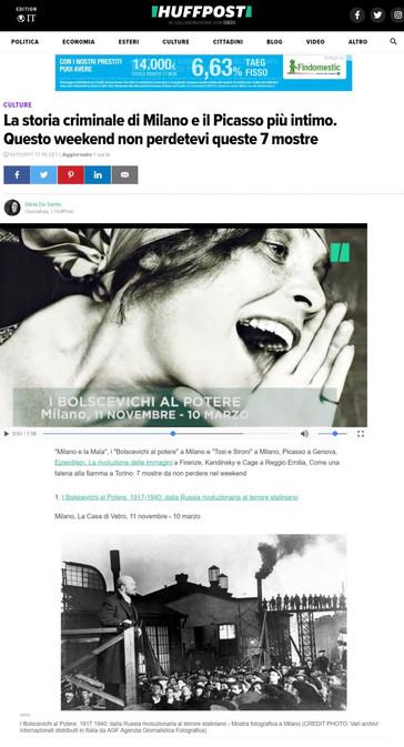 HuffingtonPost.it i Bolscevichi al potere