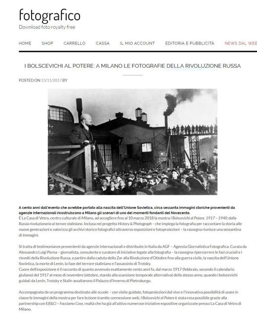 Fotografico.it i Bolscevichi al potere