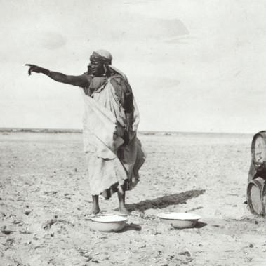 Uomo nel deserto