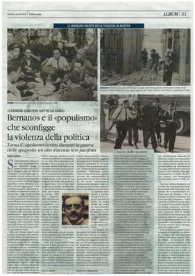il giornale 1 aprile 2017 Assedio a Madrid