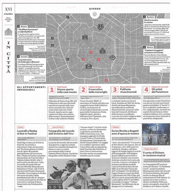 la Repubblica Mi 8 dicembre 2018 Human Rights