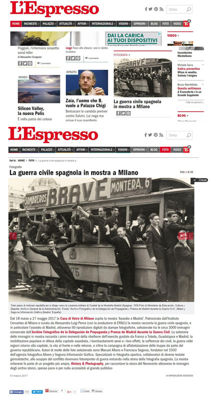l_espresso Assedio a Madrid