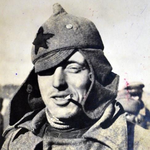 Un soldato dell'Armata Rossa