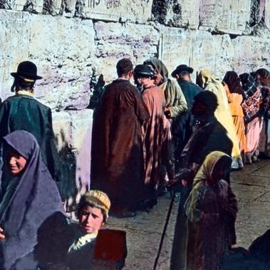 Ebrei al Muro del Pianto