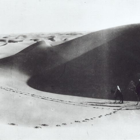 "Nel deserto del Sahara ""Lehner & Landrock, phot. – Tunis"""
