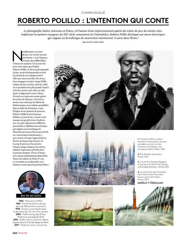 photo magazine Visions of Venice a Paris