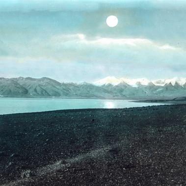 Foto panoramica del Lago Sacro