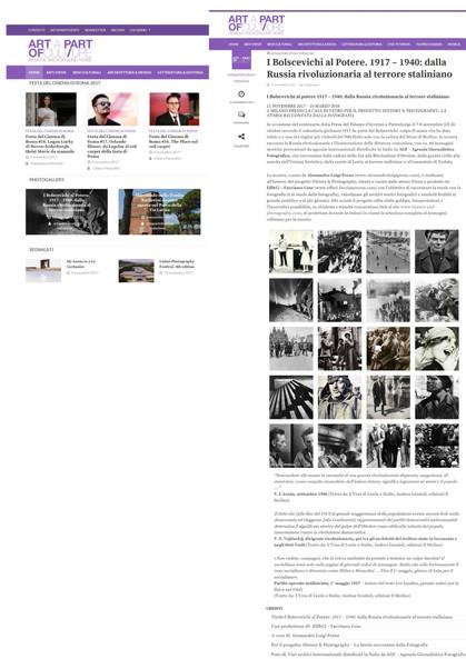 Artapartofculture.net i Bolscevichi al potere