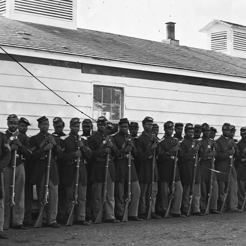 Il 4° Reggimento di Fanteria afro-americana degli Stati Uniti