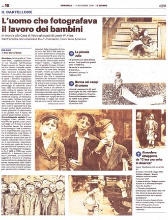 Il Giorno Milano 3 nov 2019 american kids