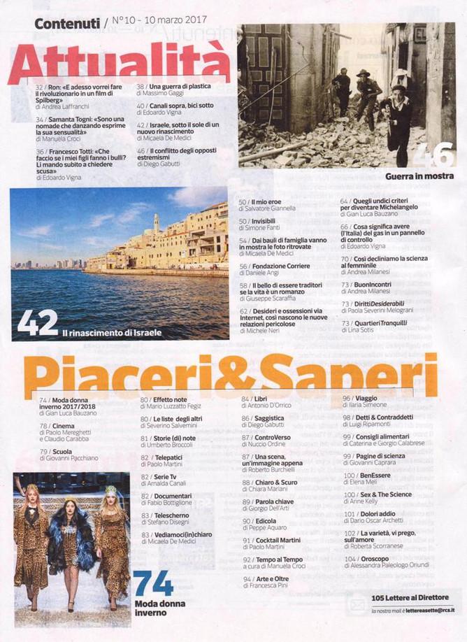 il portfolio su Sette del Corriere della Sera