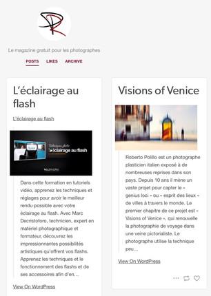 magazine pour photographe_fr Visions of Venice a Paris