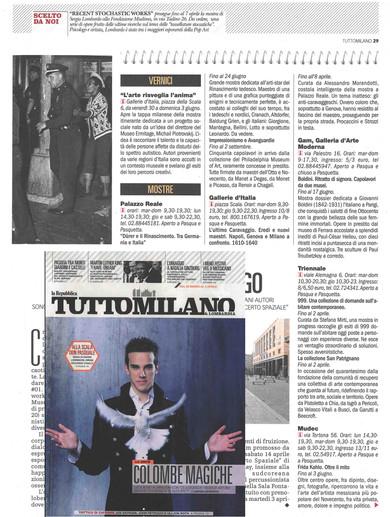 TuttoMilano 29 marzo 2018 pag29 e copertina I Have a Dream