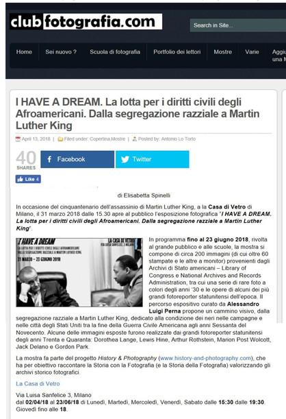 clubfotografia_com I Have a Dream