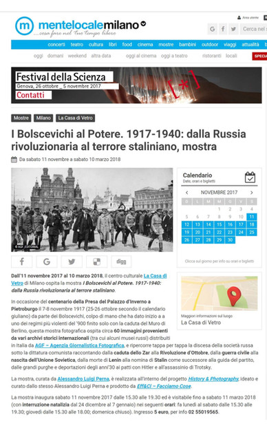 Mentelocale.it i Bolscevichi al potere