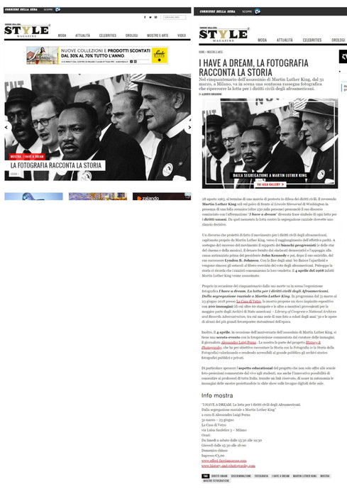 style_corriere_it I Have a Dream