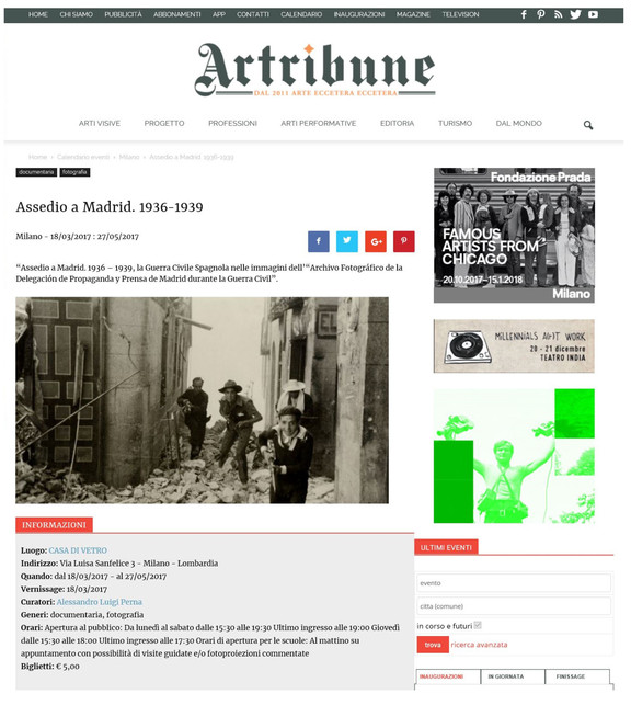 artribune_com Assedio a Madrid