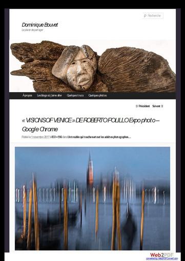 dominquebouvet_com Visions of Venice a Paris