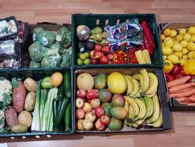 Donation of fresh fruit and veg...
