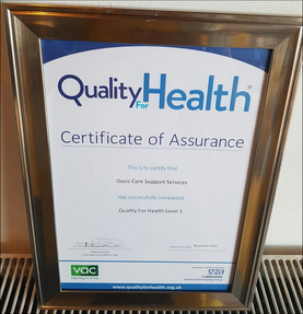We have received our Quality for Health award...