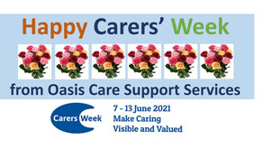 Happy Carers' Week. 7th to 13th June 2021...
