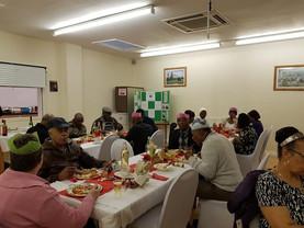 Community lunch a success...