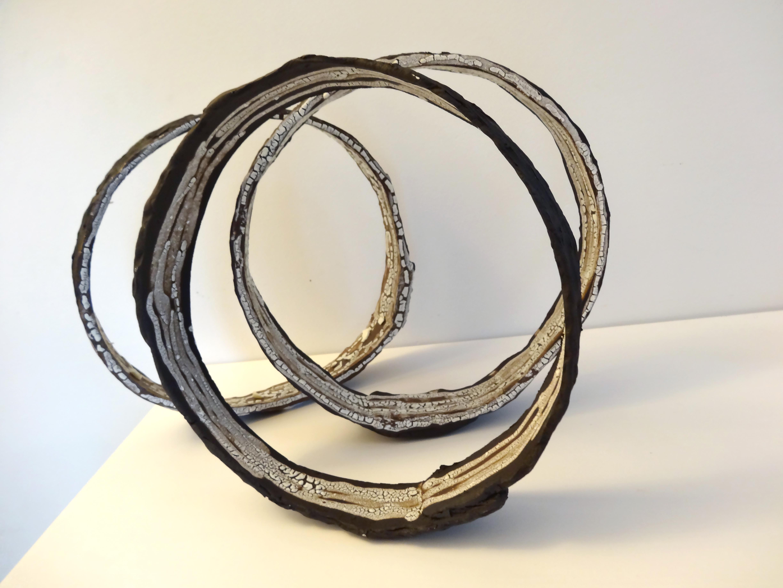Cercles grès noir