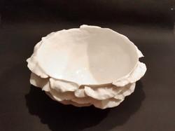 Bol pétales porcelaine