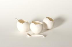 3 salt bowls
