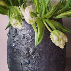 Gd pot tulipes blanches