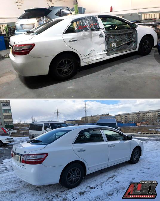Серьезный ремонт кузова