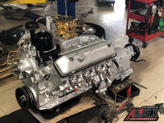 Капитальный ремонт V8 от ГАЗ Чайка
