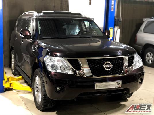 Начнём неделю с больших Автомобилей и проведём полное регламентное ТО на этом красавце Nissan Patrol