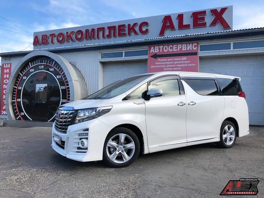 Преображение Toyota Alphard