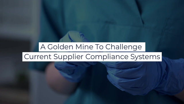 What To Do To Unveil Significant efficiencies in Supplier Compliance Systems
