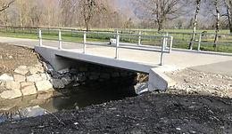 Verwaltung Saxerriet - Brücke Zufahrt, Salez