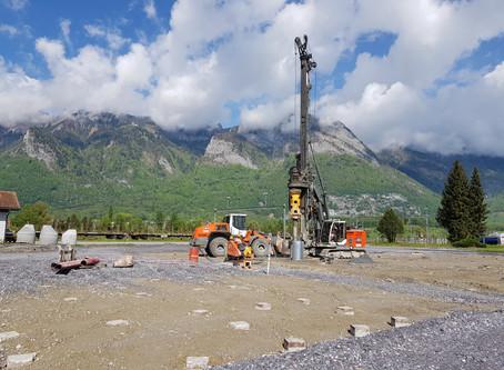 Neubau Mischgutanlage mit Asphaltrecyclinglagerplatz, 9466 Sennwald